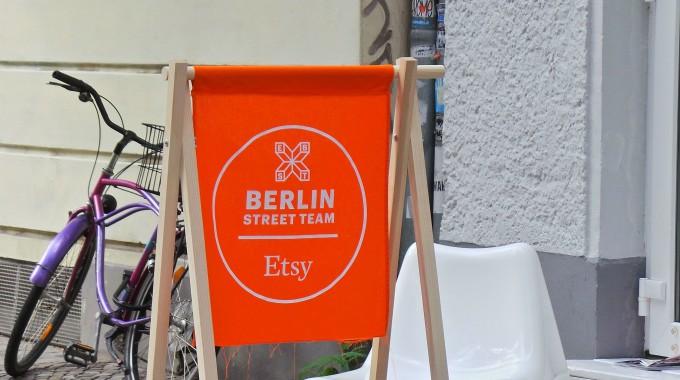 Etsy Berlin Shop Sign